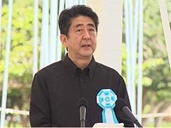 平成29年沖縄全戦没者追悼式における内閣総理大臣挨拶-平成29年6月23日
