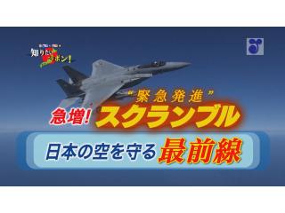 徳光・木佐の知りたいニッポン~急増!スクランブル(緊急発進) 日本の空を守る最前線(17分29秒)