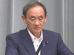平成29年7月7日(金)午後-内閣官房長官記者会見