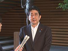 稲田防衛大臣の辞任等についての会見-平成29年7月28日