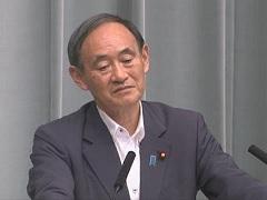平成29年8月4日(金)午後-内閣官房長官記者会見
