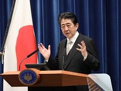 安倍内閣総理大臣記者会見【手話版】-平成29年8月3日