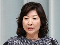 第3次安倍第3次改造内閣閣僚記者会見「野田聖子大臣」