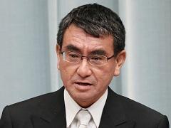 第3次安倍第3次改造内閣閣僚記者会見「河野太郎大臣」
