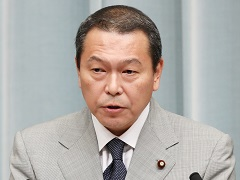 第3次安倍第3次改造内閣閣僚記者会見「小此木八郎大臣」