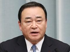 第3次安倍第3次改造内閣閣僚記者会見「梶山弘志大臣」