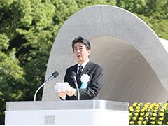 広島市原爆死没者慰霊式並びに平和祈念式あいさつ-平成29年8月6日