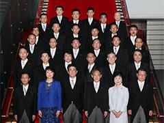 初副大臣会議・記念撮影-平成29年8月7日