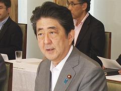 政府与党連絡会議-平成29年8月8日