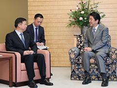 宋濤中国対外連絡部部長等による表敬-平成29年8月8日