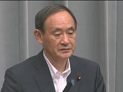 平成29年9月1日(金)午後-内閣官房長官記者会見