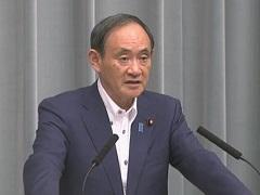 平成29年9月3日(日)午後2-内閣官房長官記者会見