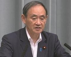 平成29年9月8日(金)午前-内閣官房長官記者会見
