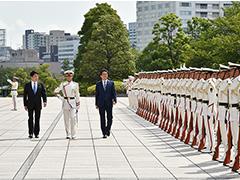 自衛隊高級幹部会同-平成29年9月11日