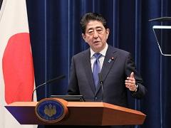 安倍内閣総理大臣記者会見【手話版】-平成29年9月25日