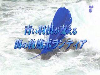 青い羽根が支える海の救難ボランティア