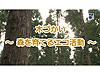徳光&木佐の知りたいニッポン!~木づかい『森を育てるエコ活動』