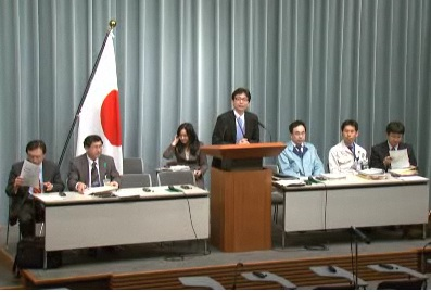 Press Briefing(The Situation after the Great East Japan Earthquake)(April 15th, 2011, at 19:30)
