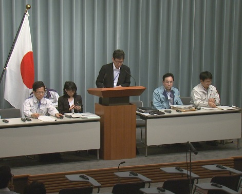 Press Briefing(The Situation after the Great East Japan Earthquake)(May 19th, 2011, at 13:00)