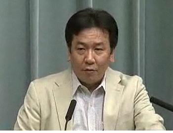 平成23年7月13日(水)午前-内閣官房長官記者会見