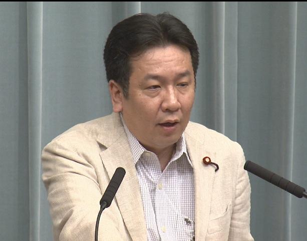 平成23年8月3日(水)午前-内閣官房長官記者会見