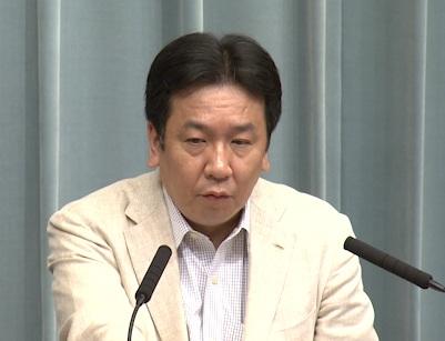 平成23年8月12日(金)午前-内閣官房長官記者会見