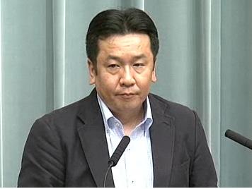 平成23年8月25日(木)午前-内閣官房長官記者会見