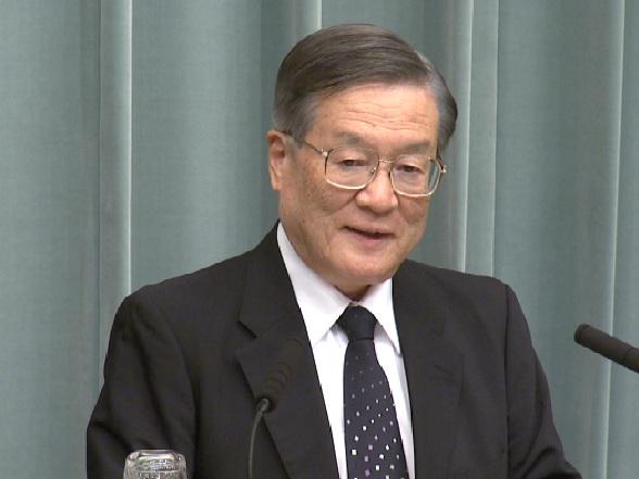 野田第二次改造内閣閣僚記者会見「森本敏」