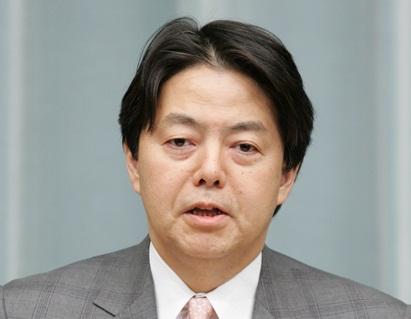 第2次安倍内閣閣僚記者会見「林芳正大臣」