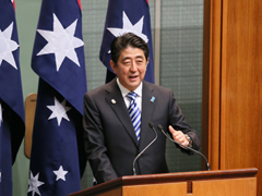 Remarks By Prime Minister Shinzo Abe to the Australian Parliament