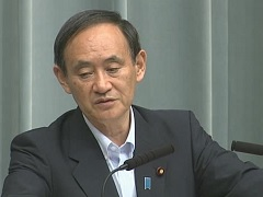 Conference by the Chief Cabinet Secretary(July 18, 2014(AM))