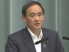 Conference by the Chief Cabinet Secretary(July 25, 2014(AM))