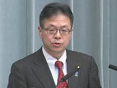 Conference by the Chief Cabinet Secretary(December 12, 2014(AM))
