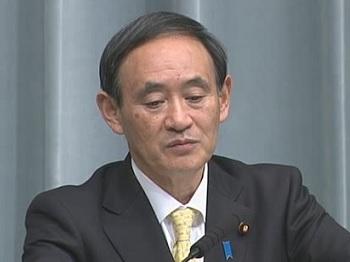 平成25年12月3日(火)午後-内閣官房長官記者会見