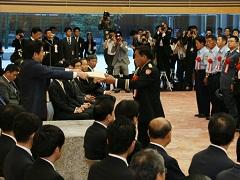 平成26年防災功労者内閣総理大臣表彰-平成26年9月10日