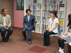 フリースクール「東京シューレ」視察-平成26年9月10日