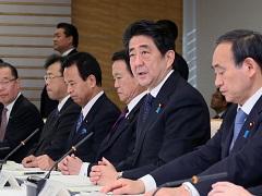政府与党政策懇談会-平成26年12月27日