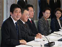 中小企業経営者との懇談-平成27年1月13日