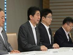 栃木県・茨城県等の大雨に関する関係閣僚会議-平成27年9月10日