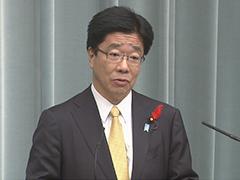 第3次安倍改造内閣閣僚記者会見「加藤勝信大臣」