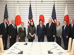 米国議会日本研究グループ一行による表敬-平成28年2月17日