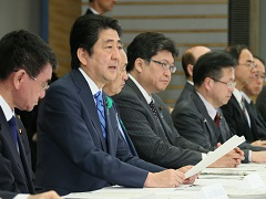 平成28年熊本県熊本地方を震源とする地震非常災害対策本部会議(第9回)-平成28年4月18日