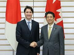 日・カナダ首脳会談等-平成28年5月24日