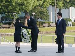 日米両首脳による広島訪問-平成28年5月27日