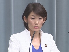 第3次安倍第2次改造内閣閣僚記者会見「丸川珠代大臣」