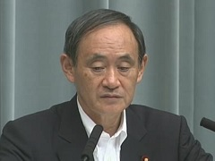 平成28年9月2日(金)午後-内閣官房長官記者会見