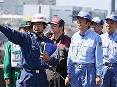 平成28年度総合防災訓練-平成28年9月1日