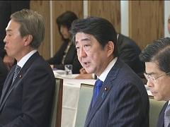 政府与党連絡会議-平成28年12月5日