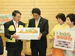 鳥取県知事及び鳥取県観光関係者等による表敬-平成28年12月6日