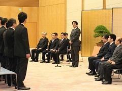 内閣及び内閣府永年勤続者表彰式-平成28年12月22日